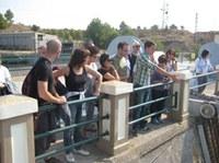Itinerario para conocer a fondo el canal y la central de Seròs